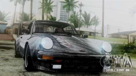 Porsche 911 Turbo (930) 1985 Kit C para GTA San Andreas vista inferior