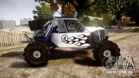 Buggy Fireball para GTA 4 esquerda vista