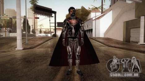Superman Cyborg v1 para GTA San Andreas segunda tela