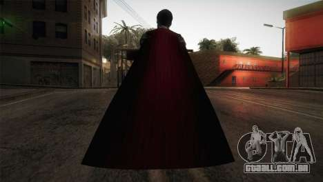 Superman Cyborg v1 para GTA San Andreas terceira tela