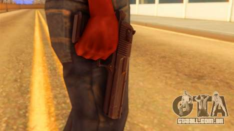 Atmosphere Desert Eagle para GTA San Andreas terceira tela