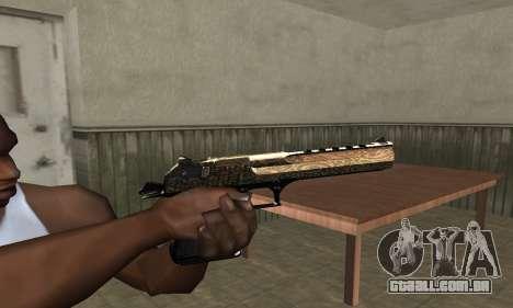 Brown Jungles Deagle para GTA San Andreas