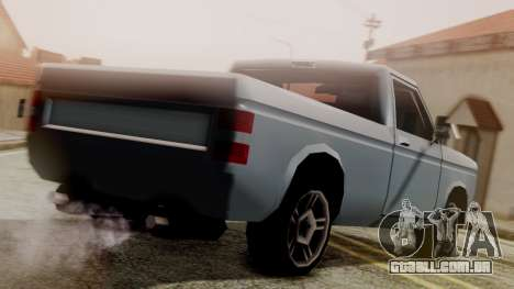 Bobcat New Edition para GTA San Andreas esquerda vista