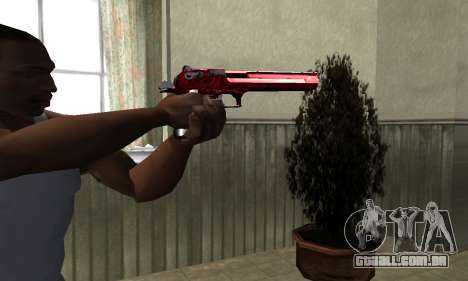 Redl Deagle para GTA San Andreas