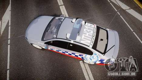 Ford Falcon FG XR6 Turbo Highway Patrol [ELS] para GTA 4 vista direita