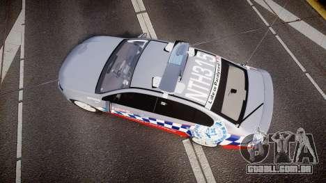 Ford Falcon FG XR6 Turbo Highway Patrol [ELS] para GTA 4 vista direita