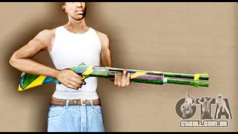Brasileiro Shotgun para GTA San Andreas terceira tela