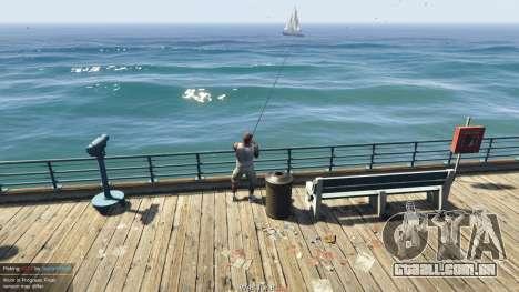 GTA 5 Fishing Mod 0.2.7 BETA segundo screenshot