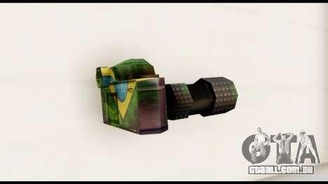 Brasileiro Camera para GTA San Andreas segunda tela