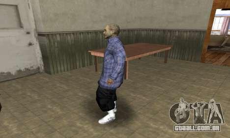 Rifa Skin Second para GTA San Andreas segunda tela