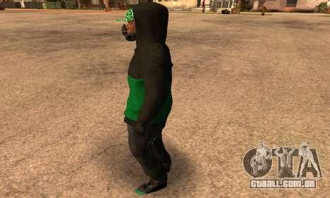Fam Black para GTA San Andreas segunda tela