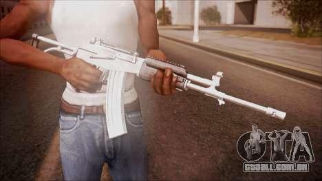 Galil AR v1 from Battlefield Hardline para GTA San Andreas terceira tela