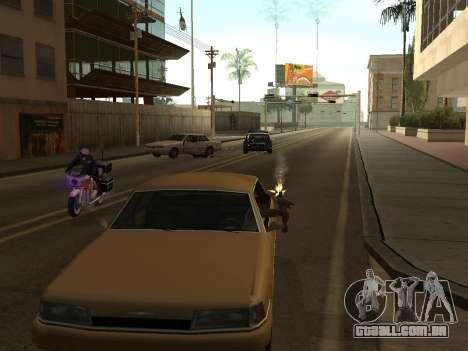 Manual Driveby para GTA San Andreas segunda tela