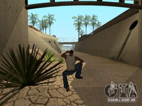 Ped.ifp Animação Gopnik para GTA San Andreas sexta tela