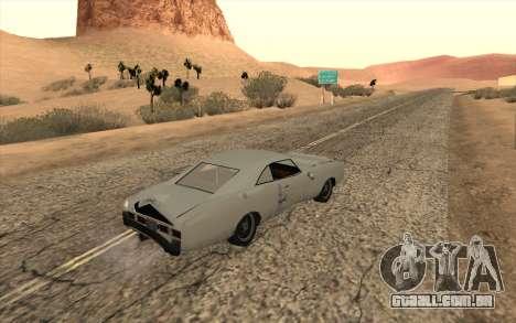 Imponte Dukes SA Style para GTA San Andreas vista traseira