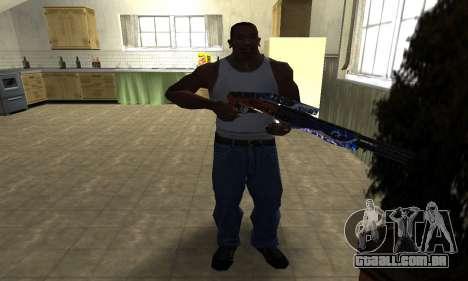 Fish Power Combat Shotgun para GTA San Andreas terceira tela