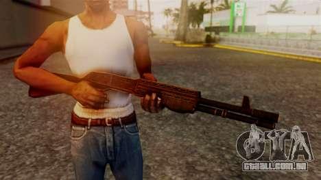 BlueSteel Shotgun para GTA San Andreas terceira tela
