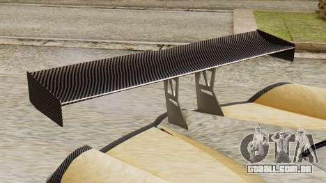 Pegassi Osyra Extra 2 para GTA San Andreas vista traseira