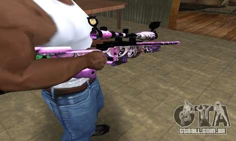 Neon Sniper Rifle para GTA San Andreas