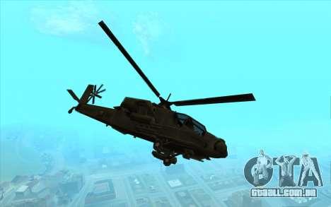 Caçador из Vice City para GTA San Andreas esquerda vista
