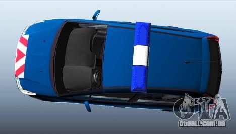 Citroen C4 Gendarmerie [ELS] para GTA 4 esquerda vista