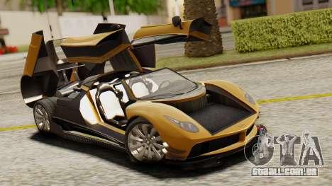 Pegassi Osyra Extra 2 para vista lateral GTA San Andreas