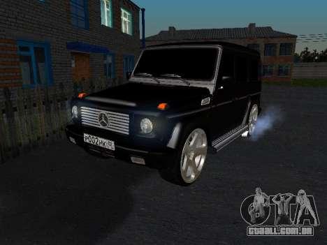 Mercedes-Benz G 320 para GTA San Andreas