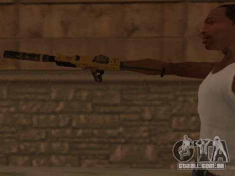 Micro SMG para GTA San Andreas terceira tela
