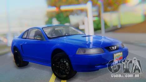 Ford Mustang 1999 Clean para GTA San Andreas