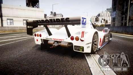 Radical SR8 RX 2011 [11] para GTA 4 traseira esquerda vista
