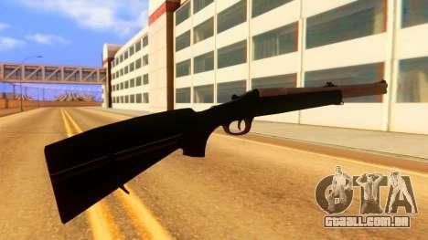 Atmosphere Rifle para GTA San Andreas segunda tela