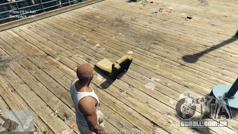 Fishing Mod 0.2.7 BETA para GTA 5