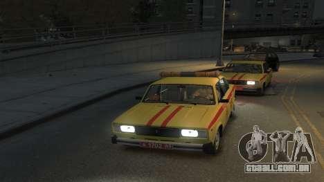 USANDO 2105 Gorsvet para GTA 4 traseira esquerda vista
