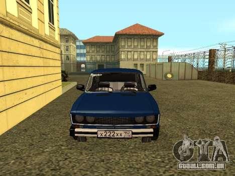 VAZ 21065 para GTA San Andreas esquerda vista