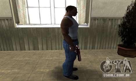 Redl Deagle para GTA San Andreas terceira tela
