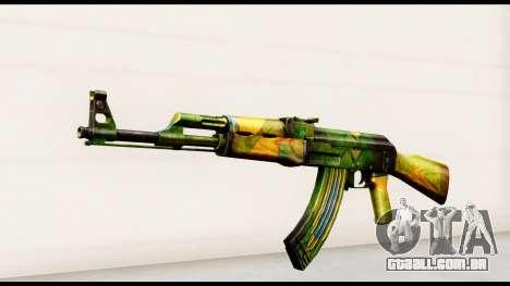Brasileiro AK-47 para GTA San Andreas