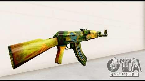 Brasileiro AK-47 para GTA San Andreas segunda tela