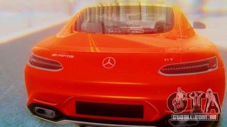 Mercedes-Benz SLS AMG GT para GTA San Andreas vista interior