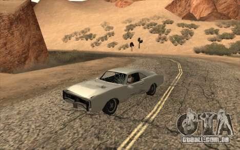 Imponte Dukes SA Style para GTA San Andreas vista direita