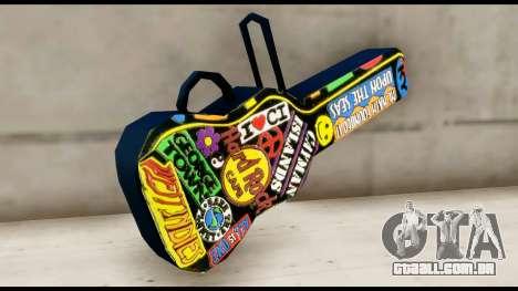 Guitar Case MG Colorful para GTA San Andreas segunda tela