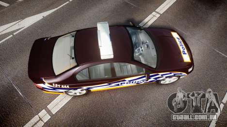 Ford Falcon BA XR8 Highway Patrol [ELS] para GTA 4 vista direita