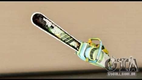 Brasileiro Chainsaw para GTA San Andreas