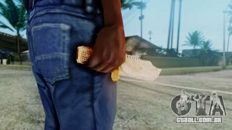 Red Dead Redemption Knife para GTA San Andreas terceira tela