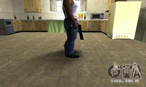 Black Cool Deagle para GTA San Andreas segunda tela