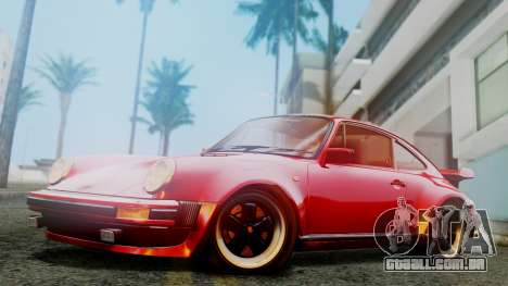 Porsche 911 Turbo (930) 1985 Kit A para GTA San Andreas esquerda vista