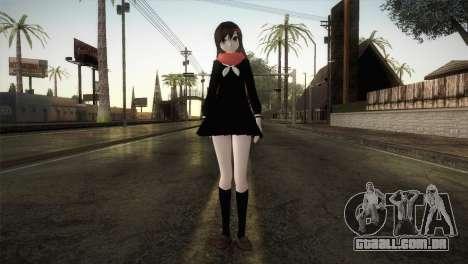 Tateyama Ayano (Kagerou Project) para GTA San Andreas segunda tela