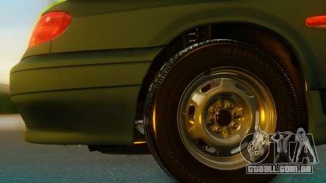 VAZ 2113 Stoke para GTA San Andreas traseira esquerda vista