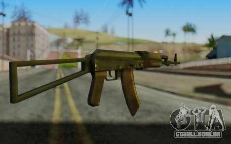 AK-74P para GTA San Andreas segunda tela