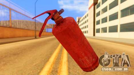 Atmosphere Fire Extinguisher para GTA San Andreas segunda tela