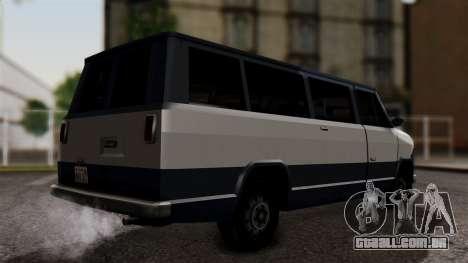 El Passa Van para GTA San Andreas esquerda vista